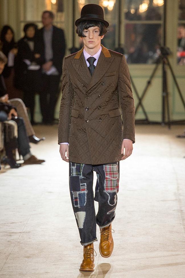 PARIS FASHION WEEK Junya Watanabe Menswear Fall 2014. www.imageamplified.com, Image Amplified (21)