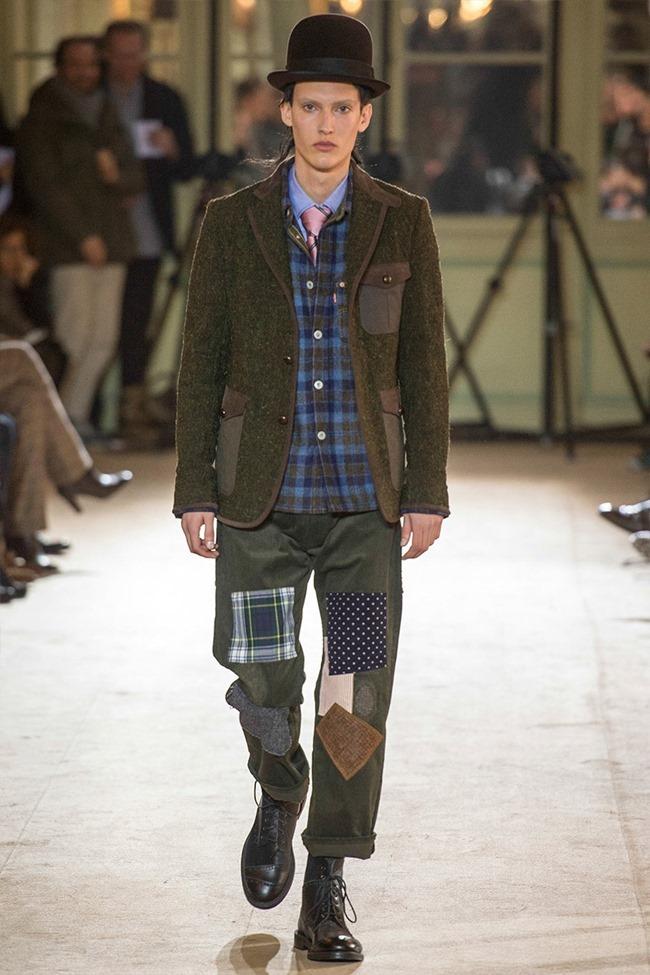PARIS FASHION WEEK Junya Watanabe Menswear Fall 2014. www.imageamplified.com, Image Amplified (34)