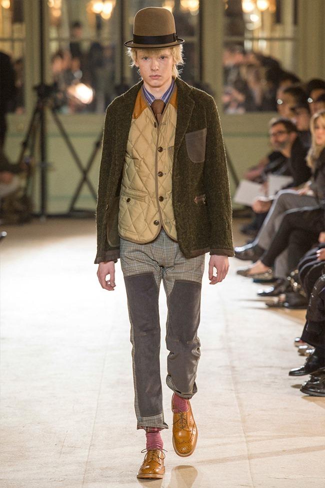 PARIS FASHION WEEK Junya Watanabe Menswear Fall 2014. www.imageamplified.com, Image Amplified (36)