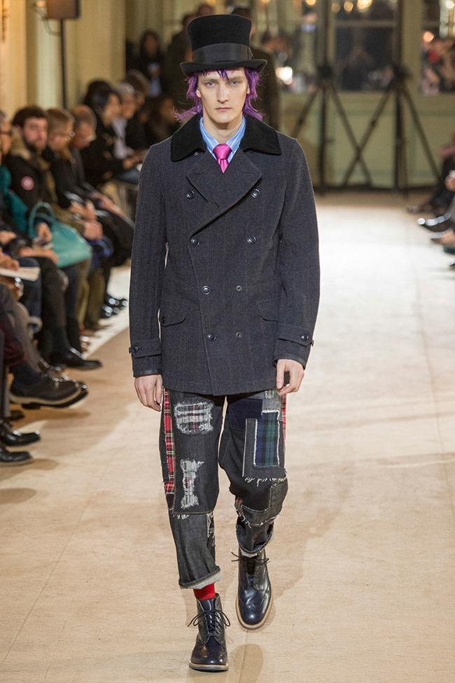 PARIS FASHION WEEK Junya Watanabe Menswear Fall 2014. www.imageamplified.com, Image Amplified (40)