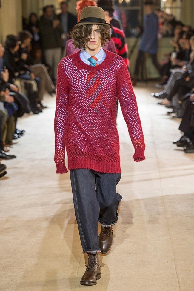 PARIS FASHION WEEK Junya Watanabe Menswear Fall 2014. www.imageamplified.com, Image Amplified (42)