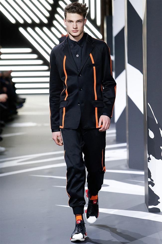 PARIS FASHION WEEK Y-3 Menswear Fall 2014. www.imageamplified.com, Image Amplified (3)