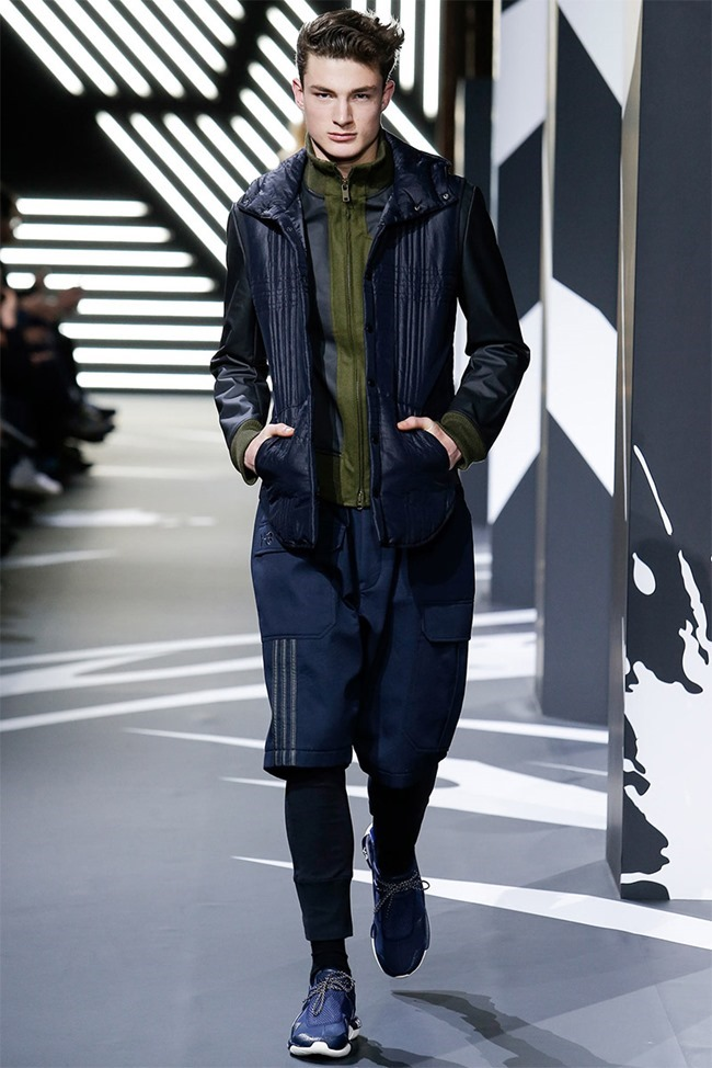 PARIS FASHION WEEK Y-3 Menswear Fall 2014. www.imageamplified.com, Image Amplified (12)
