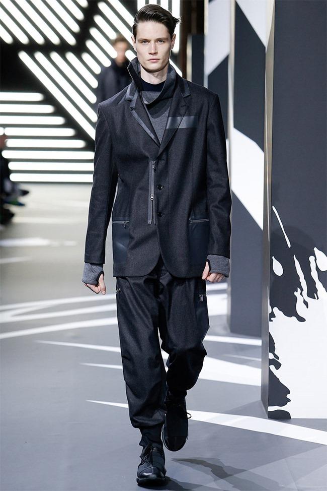 PARIS FASHION WEEK Y-3 Menswear Fall 2014. www.imageamplified.com, Image Amplified (16)