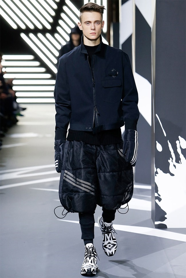PARIS FASHION WEEK Y-3 Menswear Fall 2014. www.imageamplified.com, Image Amplified (21)