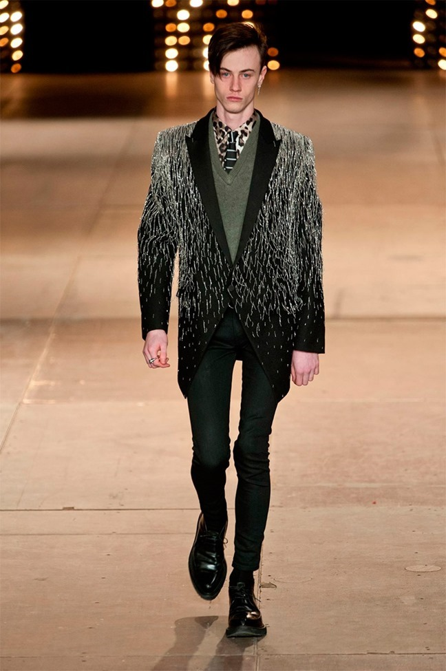 PARIS FASHION WEEK Saint Laurent Fall 2014. www.imageamplified.com, Image Amplified (13)