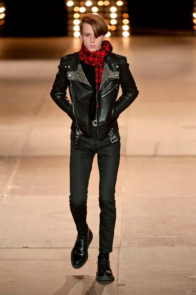 PARIS FASHION WEEK Saint Laurent Fall 2014. www.i mageamplified.com, Image Amplified (36)