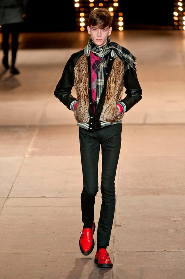 PARIS FASHION WEEK Saint Laurent Fall 2014. www.imageamplified.com, Image Amplified (47)