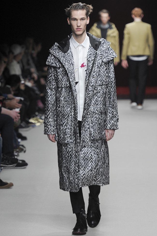 PARIS FASHION WEEK Kris Van Assche Menswear Fall 2014. www.imageamplified.com, Image Amplified (1)
