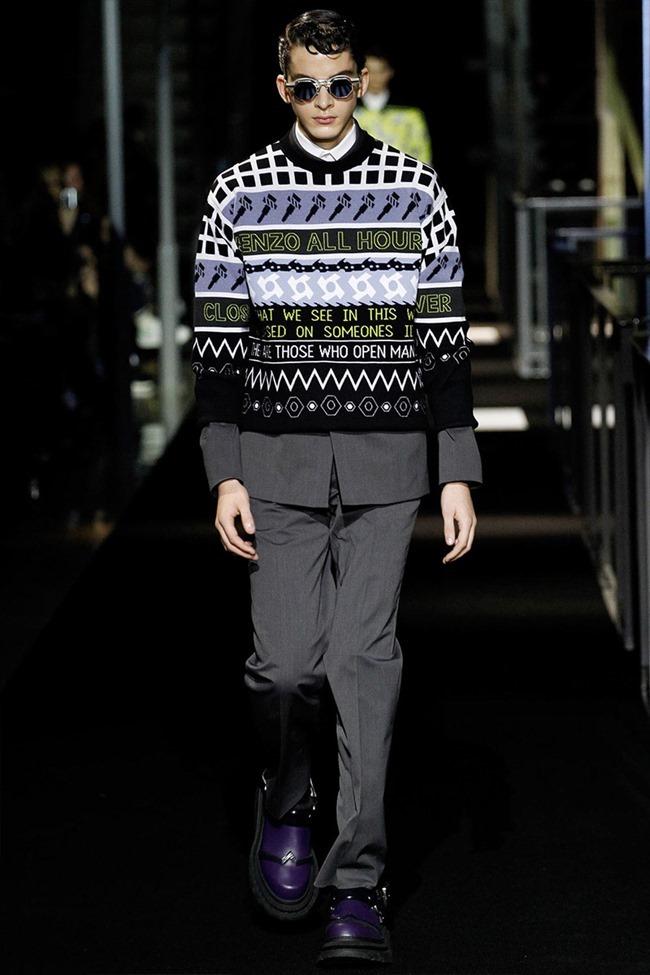 PARIS FASHION WEEK Kenzo Menswear Fall 2014. www.imageamplified.com, Image Amplified (38)