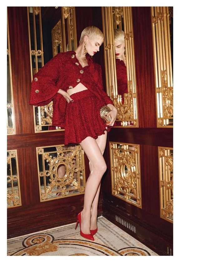 VOGUE PARIS Saskia De Brauw by Terry Richardson. Clare Richardson, February 2014, www.imageamplified.com, Image Amplified (11)