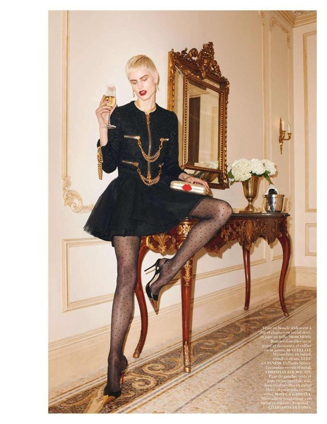 VOGUE PARIS Saskia De Brauw by Terry Richardson. Clare Richardson, February 2014, www.imageamplified.com, Image Amplified (12)