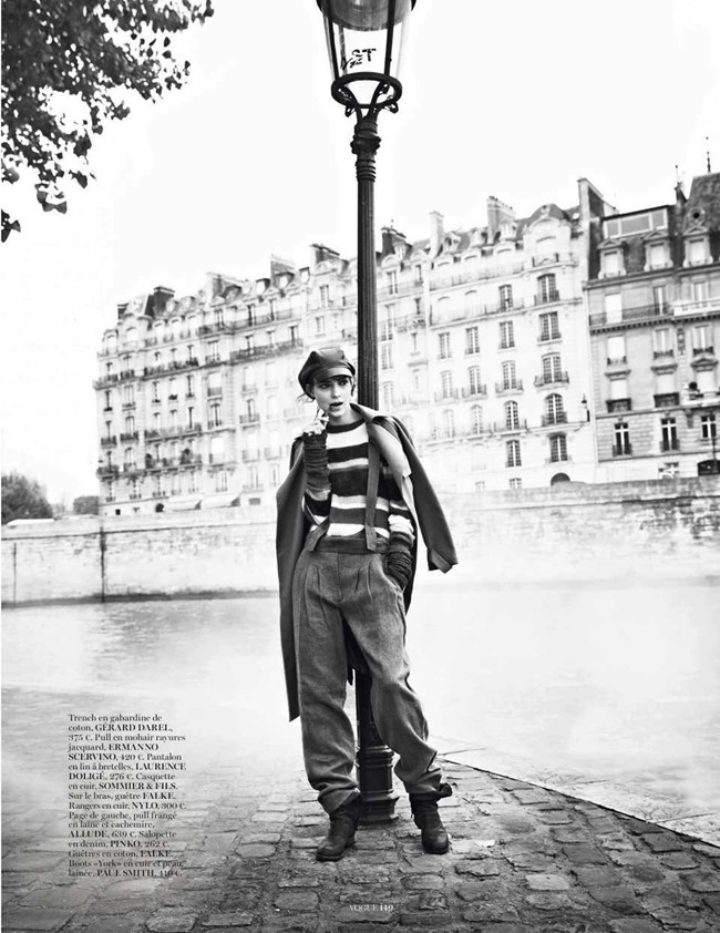 VOGUE PARIS Kati Nescher in Sur Le Quais by Lachlan Bailey. Claire Dhelens, February 2014, www.imageamplified.com, Image Amplified (6)