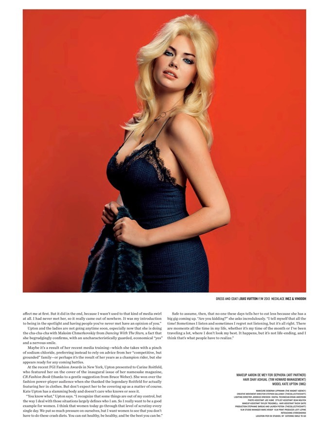 V MAGAZINE Kate Upton in The Only Way Is Upton by Inez & Vinoodh. Nicola Formichetti, Spring 2014, www.imageamplified.com, Image Amplified (8)