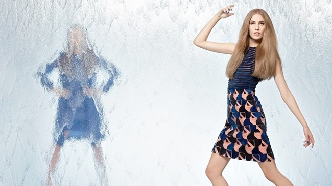 CAMPAIGN Nadja Bender & Joan Smalls for Fendi Spring 2014 by Karl Lagerfeld. www.imageamplified.com, Image Amplified (14)