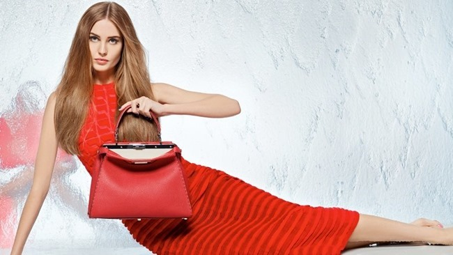 CAMPAIGN Nadja Bender & Joan Smalls for Fendi Spring 2014 by Karl Lagerfeld. www.imageamplified.com, Image Amplified (15)