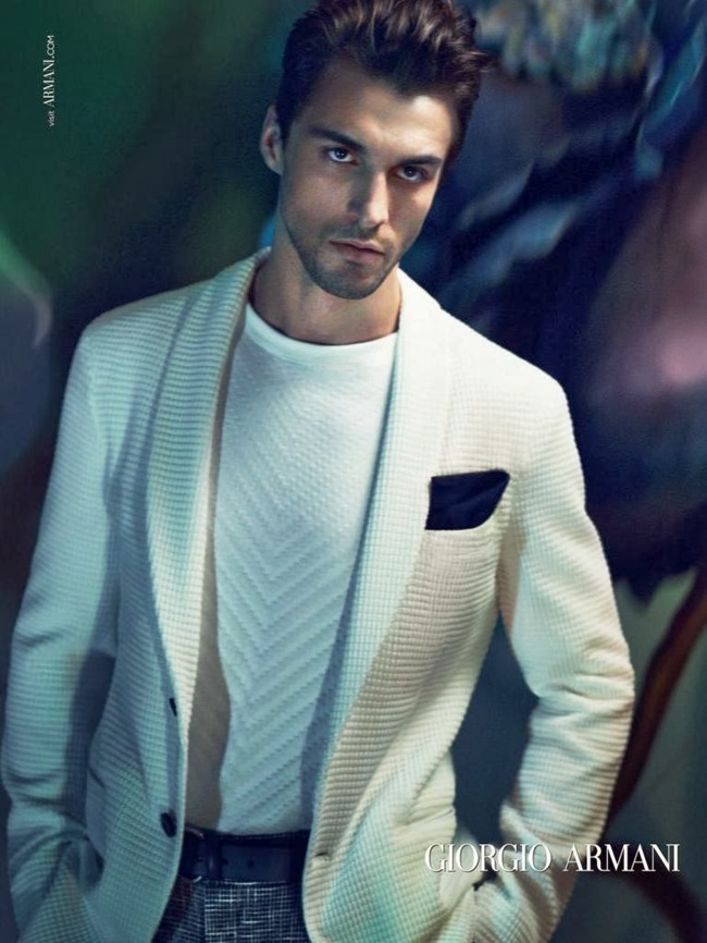 CAMPAIGN Nikolai Danielsen for Giorgio Armani Spring 2014 by Mert & Marcus. www.imageamplified.com, Image Amplified (1)