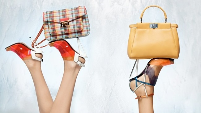 CAMPAIGN Nadja Bender & Joan Smalls for Fendi Spring 2014 by Karl Lagerfeld. www.imageamplified.com, Image Amplified (8)