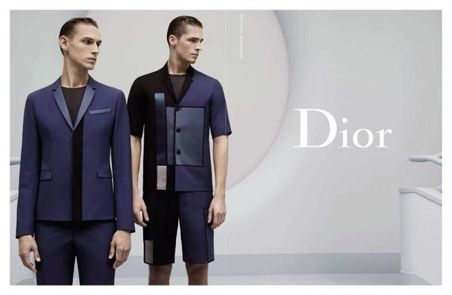 CAMPAIGN Victor Norlander & Edward Wilding for Dior Homme Spring 2014 by Karl Lagerfeld. www.imageamplified.com, Image Amplified (2)