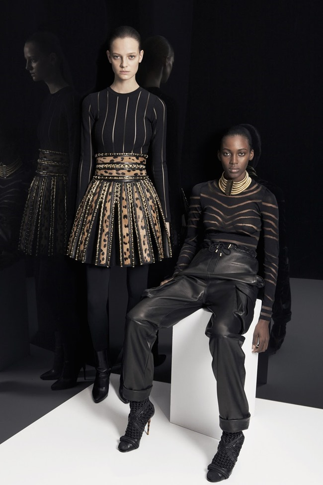 COLLECTION Ine Neefs & Kai Newman for Balmain Pre-Fall 2014. www.imageamplified.com, Image Amplified (1)
