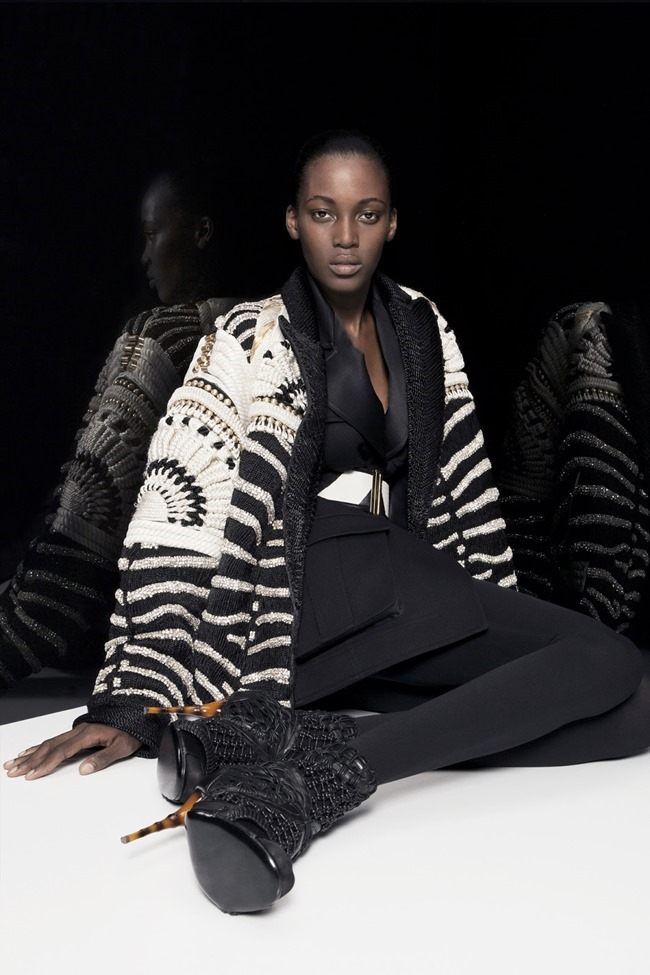 COLLECTION Ine Neefs & Kai Newman for Balmain Pre-Fall 2014. www.imageamplified.com, Image Amplified (15)