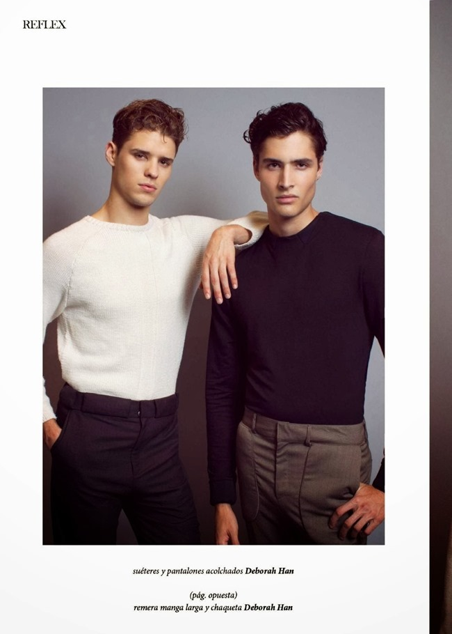 REFLEX HOMME Cody Morrison & Laurence Rodriguez in Neutrality by Patrick Lascina. Spring 2014, www.imageamplified.com, Image Amplified (6)