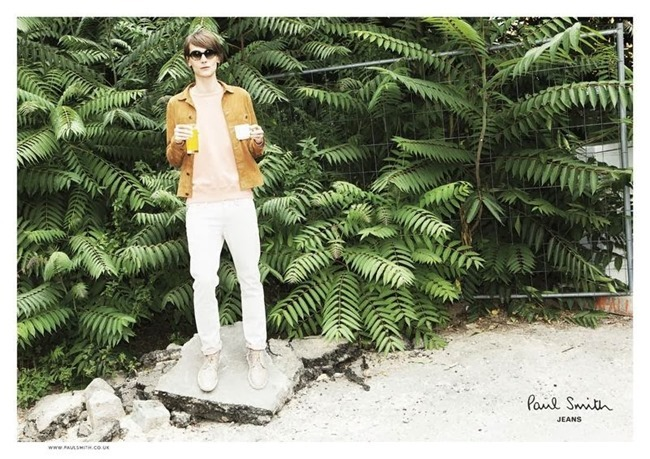 CAMPAIGN Tomek Szczukiecki for Paul Smith Jeans Spring 2014 by Ronald Dick. www.imageamplified.com, Image Amplified (2)