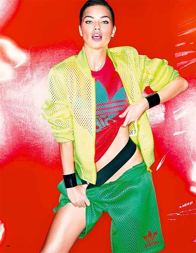 VOGUE JAPAN Adriana Lima in Playing At Pop by Tom Munro. Carlyne Cerf De Dudzeele, Spring 2014, www.imageamplified.com, Image Amplified (2)