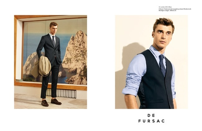 CAMPAIGN Clement Chabernaud for De Fursac Spring 2014 by Jamie Hawkesworth. www.imageamplified.com, Image Amplified (2)