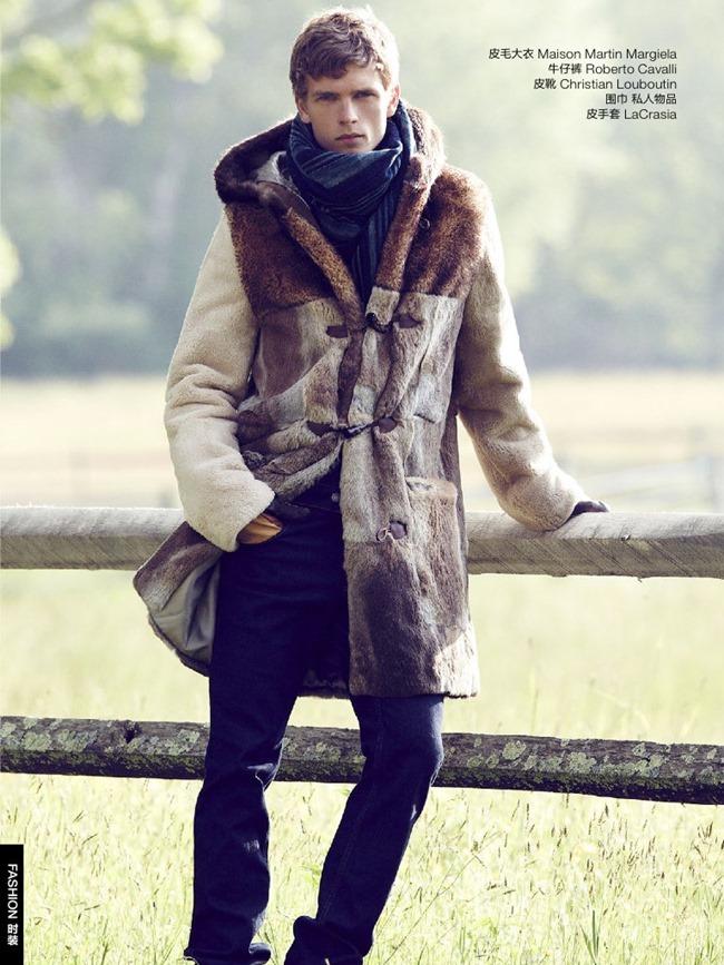 GQ CHINA Benjamin Eidem in Wild Cowboy by Bruno Staub. January 2014, www.imageamplified.com, Image Amplified (8)
