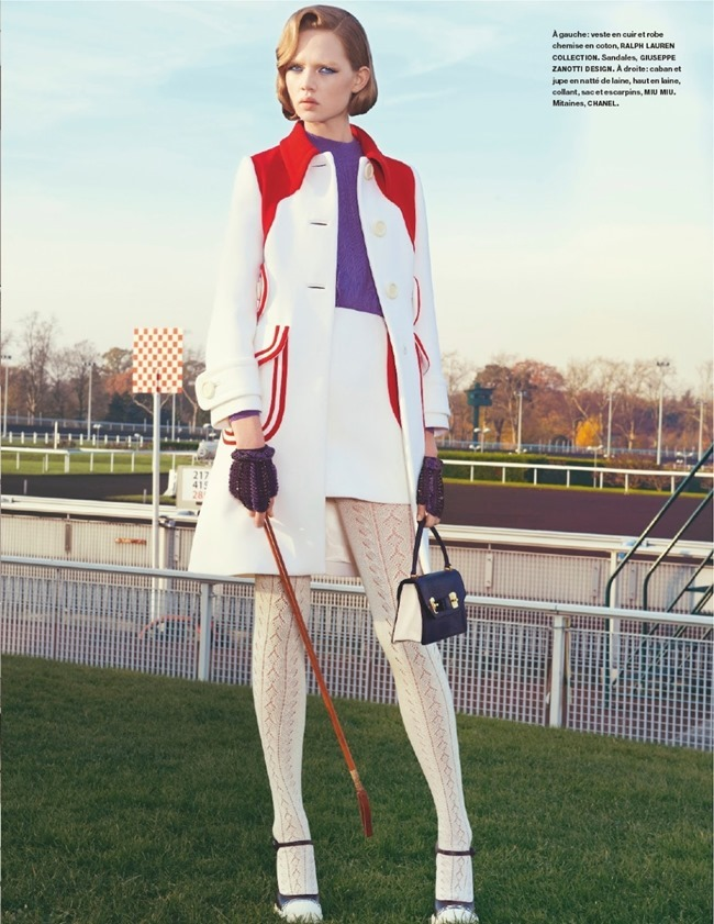 NUMERO MAGAZINE Holly Rose in Champ De Courses by Kourtney Roy. Irina Marie, February 2014, www.imageamplified.com, Image amplified (12)