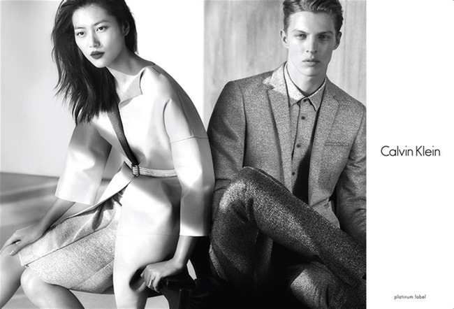 CAMPAIGN Liu Wen & Tim Schuhmacher for Calvin Klein Platinum Spring 2014. www.imageamplified.com, Image amplified (4)