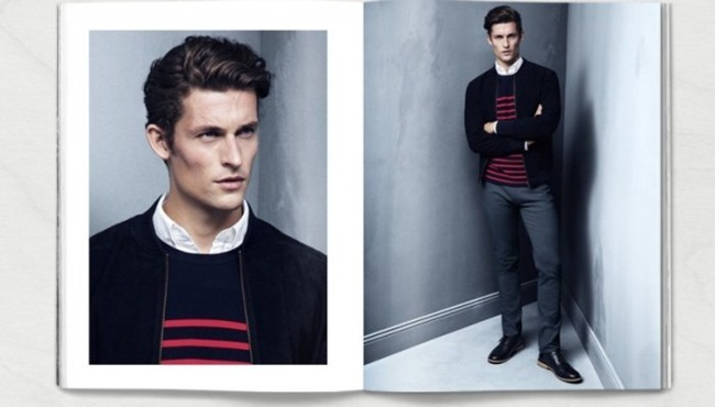 CAMPAIGN Wouter Peelen in Preppy Update for H&M Spring 2014. www.imageamplified.com, Image amplified (7)