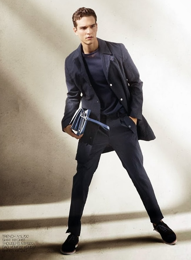CAMPAIGN Alexandre Cunha for Emporio Armani Spring 2014. www.imageamplified.com, Image Amplified (7)