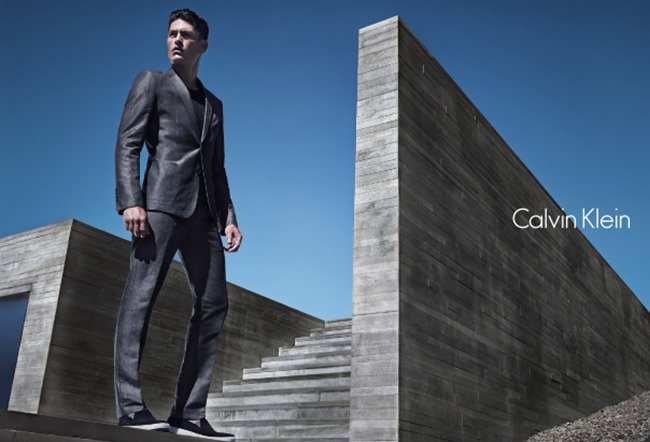 CAMPAIGN Edita Vilkeviciute & Tyson Ballou for Calvin Klein White Label Spring 2014 by Mario Sorrenti. George Cortina, www.imageamplified.com, Image Amplified (4)