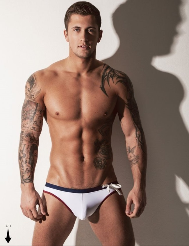 MASCULINE DOSAGE Dan Osborne in The Naked Issue for Attitude UK, March 2014. www.imageamplified.com, Image Amplified (9)