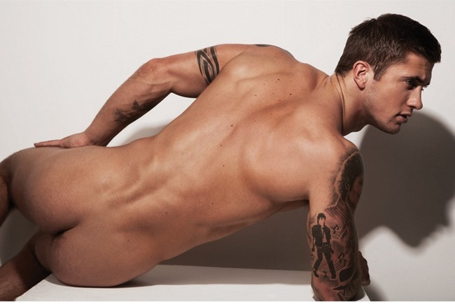 MASCULINE DOSAGE Dan Osborne in The Naked Issue for Attitude UK, March 2014. www.imageamplified.com, Image Amplified (2)