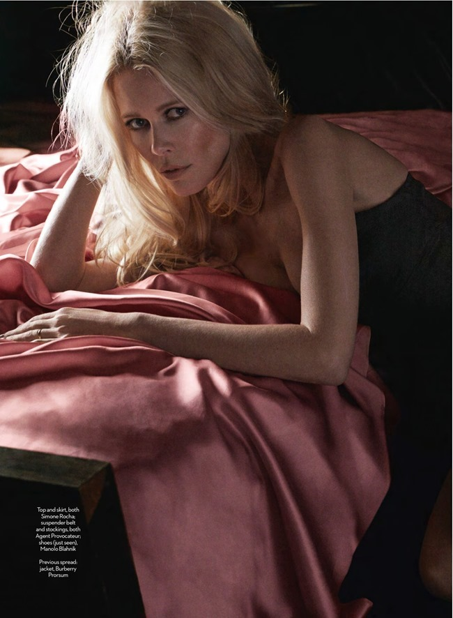 MARIE CLAIRE UK Claudia Schiffer in I, Claudia by DAvid Roemer. Tiffany Fraser, March 2014, www.imageamplified.com, Image amplified (4)