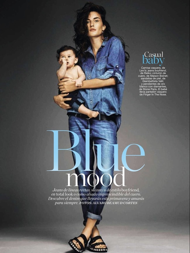 GLAMOUR SPAIN Marjolaine Rocher in Blue Mood by Alvaro Beamud Cortes. February 2014, www.imageamplified.com, Image Amplified (1)