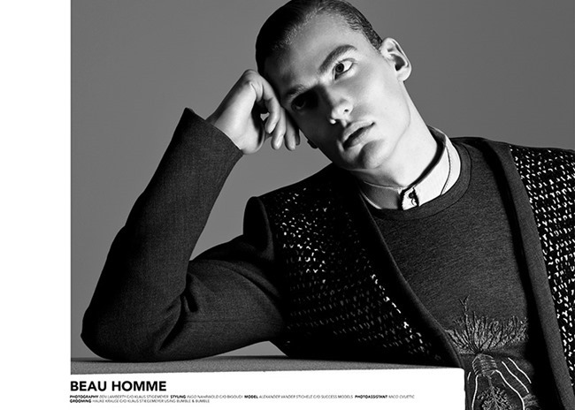 CAMPAIGN Alexander Vander Stichele for Beau Homme Fall 2014 by Ben Lamberty. Ingo Nahrwold, www.imageamplified.com, Image Amplified (2)