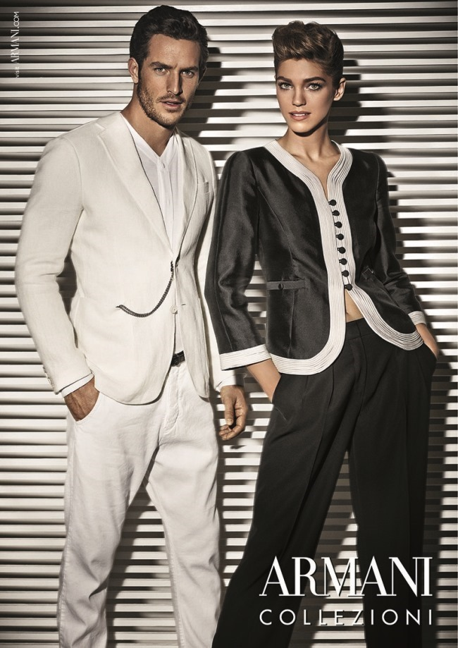 CAMPAIGN Justice Joslin for Armani Collezioni Spring 2014 by Giampaolo Sgura. Miguel Arnau, www.imageamplified.com, Image Amplified (4)