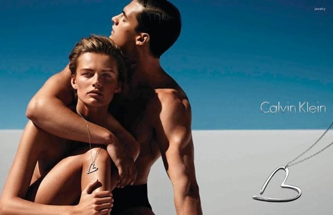 CAMPAIGNEdita Vilkeviciute & Matthew Terry for Calvin Klein Watches Spring 2014 by Mario Sorrenti. www.imageamplified.com, Image Amplified (2)