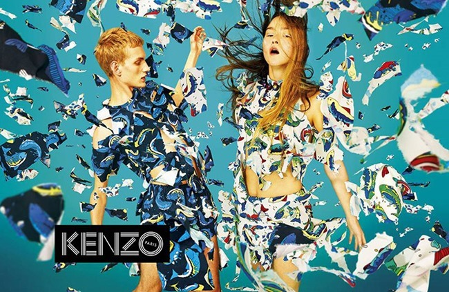 CAMPAIGN Humberto Leon & Carol Lim for Kenzo Spring 2014. www.imageamplified.com, Image Amplified (1)