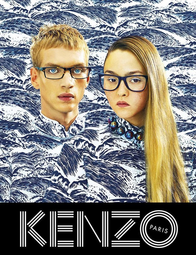 CAMPAIGN Humberto Leon & Carol Lim for Kenzo Spring 2014. www.imageamplified.com, Image Amplified (2)