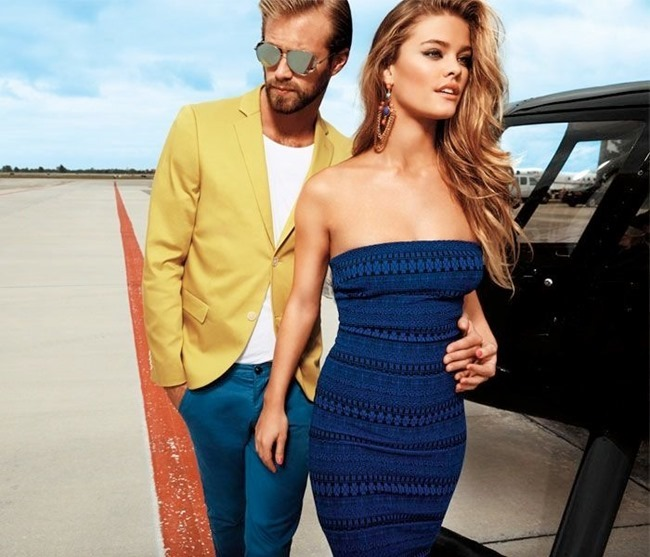 CAMPAIGN Nina Agdal for Bebe Spring 2014 by David roemer. www.imageamplified.com, Image Amplified (6)