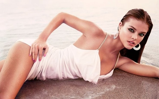 CAMPAIGN Nina Agdal for Bebe Spring 2014 by David roemer. www.imageamplified.com, Image Amplified (7)