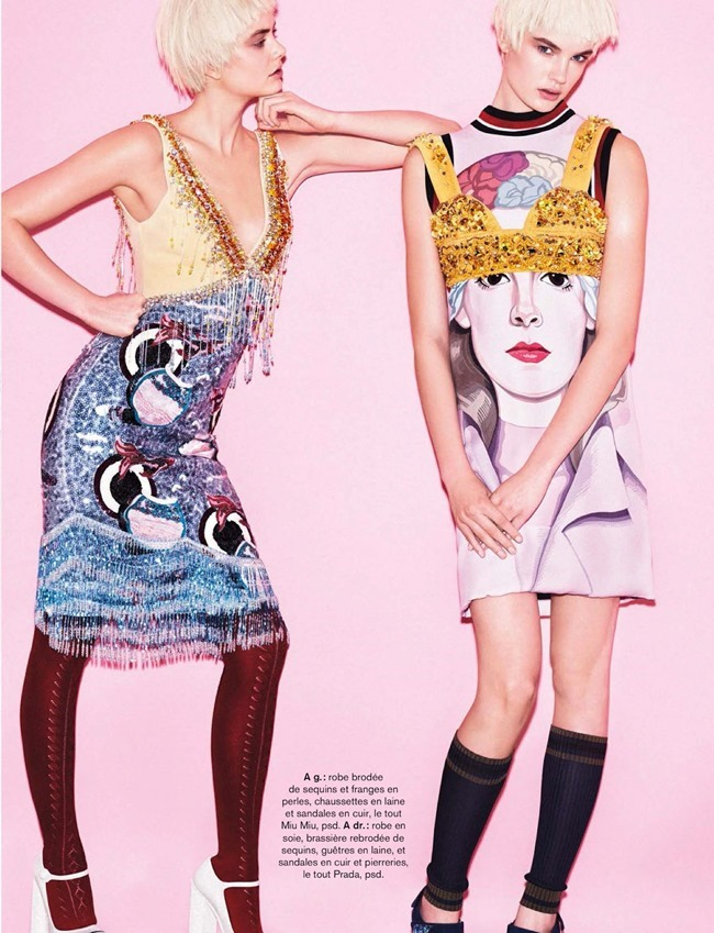 GLAMOUR FRANCE Victoria Tuaz, Isabel Scholten & Hanna Verhees in Get Arty by Alvaro Beamud Cortes. Virginie Beamud Cortes, March 2014, www.imageamplified.com, Image Amplified (5)