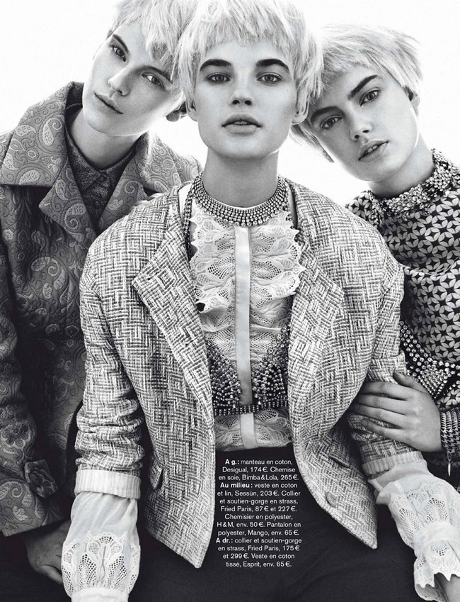 GLAMOUR FRANCE Victoria Tuaz, Isabel Scholten & Hanna Verhees in Get Arty by Alvaro Beamud Cortes. Virginie Beamud Cortes, March 2014, www.imageamplified.com, Image Amplified (6)