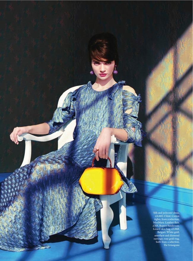 HARPER'S BAZAAR MAGAZINE Antonia Vasylchenko in Sweet Sixties by Erik Madigan. Leith Clark, March 2014, www.imageamplified.com, Image Amplified (2)