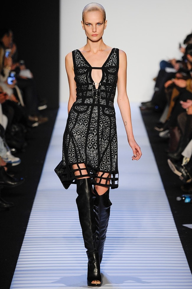 NEW YORK FASHION WEEK Herve Leger by Max Azria RTW Fall 2014. www.imageamplified.com, Image Amplified (5)